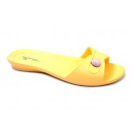 Шльопанці K101 yellow